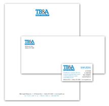 TB&A Hospital Business Cards, Letterhead